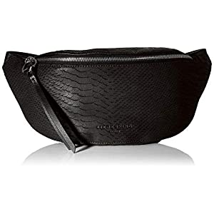 Liebeskind Berlin Damen Story Python-Belt Bag Umhängetasche, 8x14x34 cm