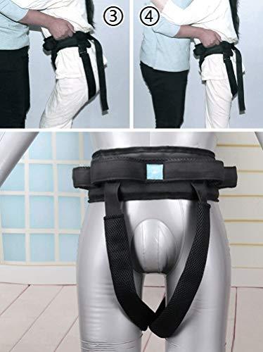 413veUjrzJL - YxnGu Cinta de Transferencia - Dispositivo de arnés del cinturón de la Marcha de la grúa de Asistencia móvil para bariátrica, pediátrica, Ancianos, Terapia Ocupacional y física