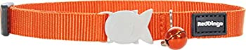 RED DINGO Collier pour Chat Orange 20-32 12 mm