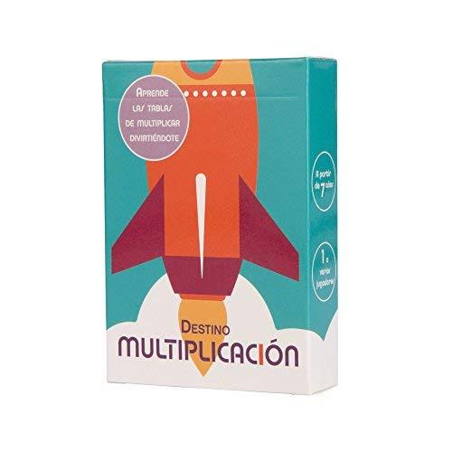 DESTINO MULTIPLICACIÓN - Juego para memorizar las tablas de multiplicación rápidamente