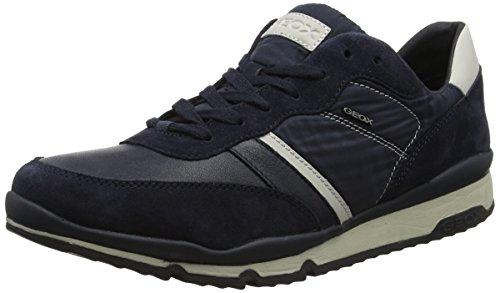 Geox U Sandford B, Zapatillas Para Hombre, Azul (Navy), 43 EU