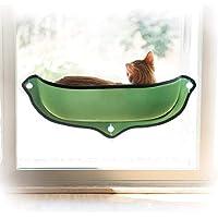 Ducomi Kitties Hängematte für Fenster mit Saugnäpfen und starken Saugnäpfen - Maximale Tragkraft 10 kg - Liefert EIN Giaciglio Perfekt für Katzen - inklusive weiches und warmes Kissen