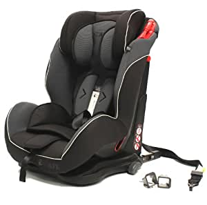 isafe S06W Isofix Duo Trio Plus Isofix and Top Teether Car Seat (Mocca)