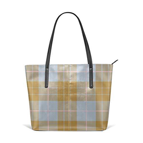 Beauty-Design Versailles Damen Handtasche aus PU-Leder mit Nebelmuster -