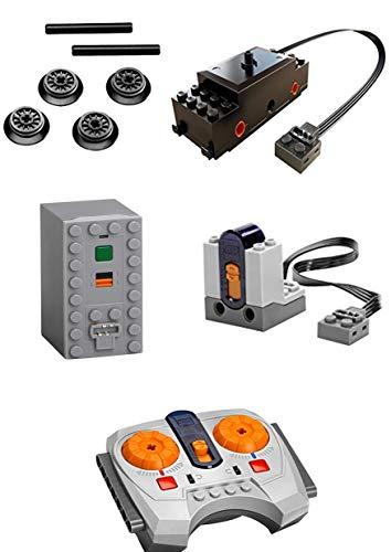 LEGO Funciones de Potencia Tren Kit Motor Incluye IR Receptor, Remoto & Caja de Batería