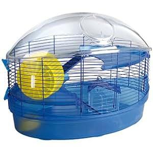Cage bleue Zenith pour hamsters