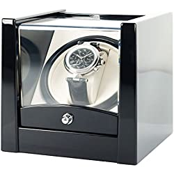 Black Time Tutelary Watch Winder Ka079 For Single Automatic Watches