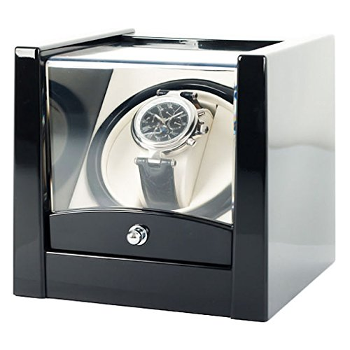 NO.1 WATCH WINDER BEST BUY REVIEW BLACK TIME TUTELARY WATCH WINDER KA079 FOR SINGLE AUTOMATIC WATCHES REVIEW