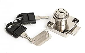 Drawer Metal Lock Safety Cabinet Drawer Desk Locker Locking Mailbox Handy Tool by GTV