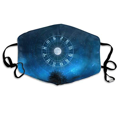 Masken,Masken für Erwachsene,Zodiac Signs.jpg Washable and Reusable Cleaning Mask,For Allergens,Exhaust Gas,Running,Cycling,Outdoor Activities