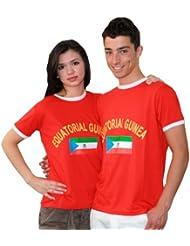 BRUBAKER Guinea Fan T-Shirt Rot Gr. S - XXXL