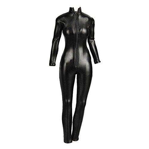 Hellery 1/6 Skala Pu Leder Frauen Outfits Overall Für 12 Zoll Action Figure Körper Modell Zeichnung Kunst Skizzieren Malerei Liefert (Malerei Outfit)