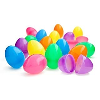 Colourful Plastic Eggs - Pack of 8 to create mystery gifts for kids parties or easter - sold exclusively by Amatola-Kei
