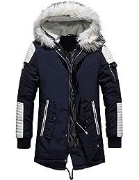 Bellelove Hommes À Manches Longues Doudoune Homme Garçon d'hiver Manteau Camouflage Blouse Épaississement Manteau Pull Outwear Top Blouse