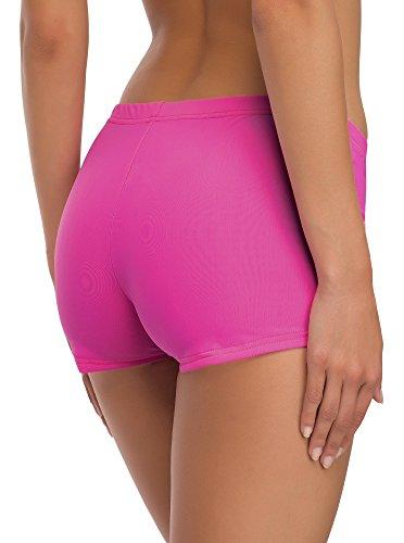 Merry Style Costume a Pantaloncino da Nuoto per Donna Modello L23L1 Rosa (3149)