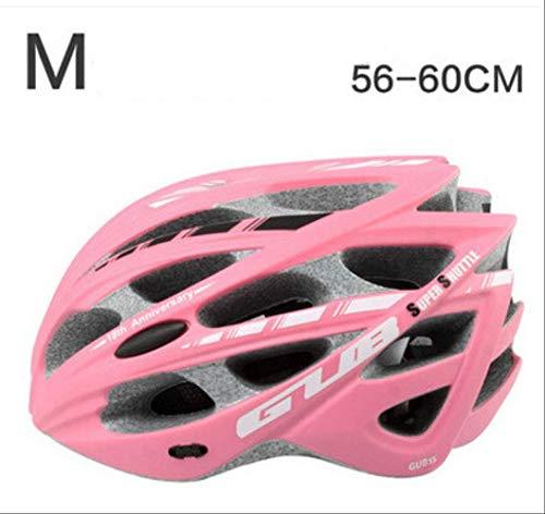 LOVEBIKE Fahrradhelm, Gub All-In-One Fahrrad Mit Insektenschutznetz Schutzhelm M Pink -
