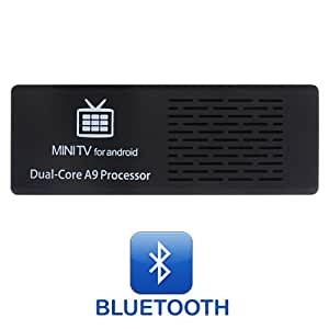 Android Mini PC MK808B mit Bluetooth, Mini TV for Android, Dual Core A9 Prozessor, Android 4.1, 1080p, WiFi integriert