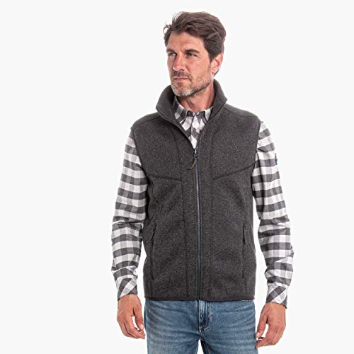 Schöffel Herren ZipIn Fleece Vest Imphal1 Fleeceweste, Charcoal, 50