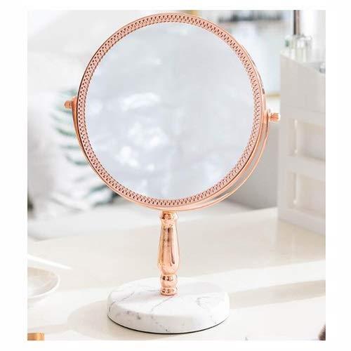 NL Tablero de la Mesa de Doble Cara de Maquillaje Espejo de baño, Espejo de baño de Aumento 3X 360...
