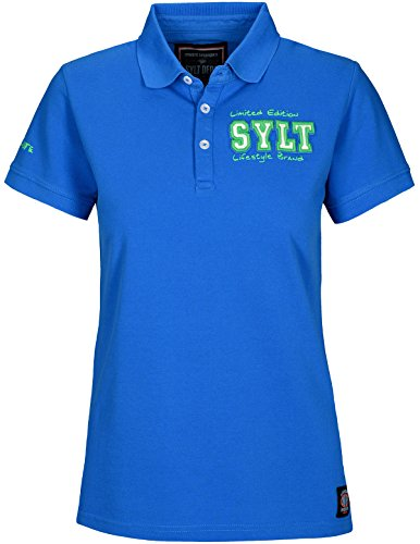 Basefield Damen Polo Shirt SYLT Edition - Royal (229005248) 642 SYLT ROYAL