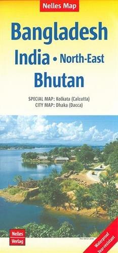 India North-East / Bangladesh - Bhutan par Nelles Verlag