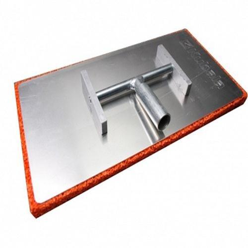 Egalisette-Alu-Einrichtung mit Feststell-Kipp-Frottoir Schwamm-Beschichtung, 400 x 200 mm x 20 mm (Kipp-behälter)