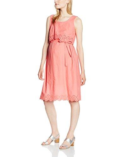 Mamalicious Mlfemmy Wsl Woven Dress, Robe de Maternité Femme Rose - Rosa (Tea Rose)