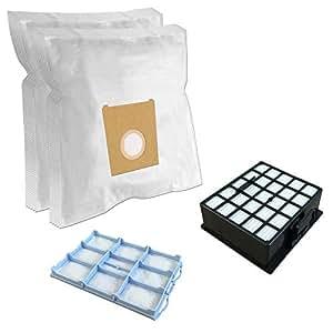 Set - HEPA Filter + Motorschutzfilter + 10
