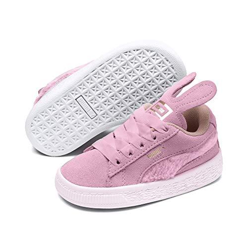 Puma Baby Mädchen Suede Easter AC INF Sneaker, (Pale Pink-Coral Cloud Team Gold 2), 23 EU (Boutique Schuhe Kleinkinder Für)