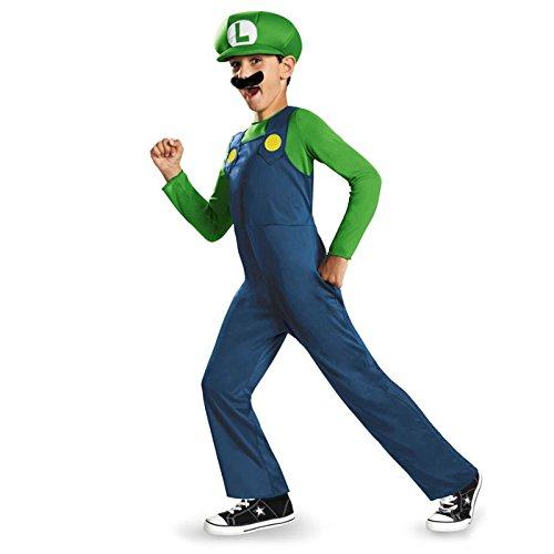 Kostüm Luigi für Kinder (Kostüm Luigi Kinder)