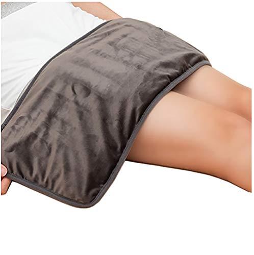 KOSHSH Riscaldamento Elettrico Ginocchiera, Moxibustione Caldo compressa Calda Fisioterapia per rilassamento Muscolare Ideale per Uso Domestico Ufficio