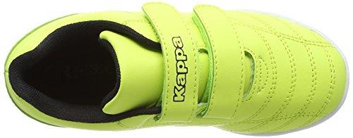 Kappa Unisex-Kinder Kick K Low-Top Gelb (4011 YELLOW/BLACK)