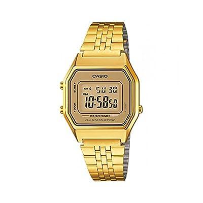 CASIO LA-680WG-9 - Reloj de pulsera, para mujer, color dorado