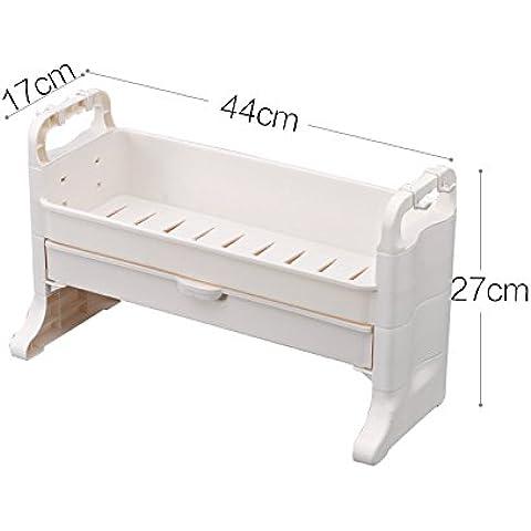 MEICHEN-Cocina con cajón rack rack de almacenamiento-calidad Especiero estanterías de almacenamiento,