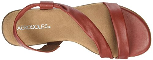 Aerosoles Chairman, Sandales  Bout ouvert femme Brown (Clay)