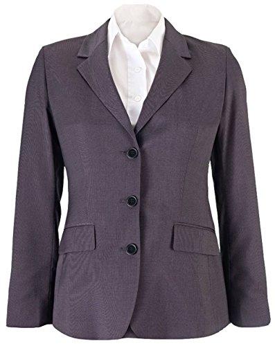 Womens Icona Longline Jacket von Alexandra - Charcoal - 20R