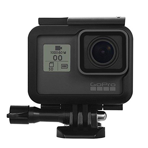 Preisvergleich Produktbild CAM-ULATA Seitenschutzrahmen Einfassung Standard Gehäuse Kasten Abdeckung für GoPro Hero 5 Schwarz