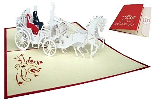 Biglietto Auguri Matrimonio Pop Up : Biglietto auguri matrimonio amazon