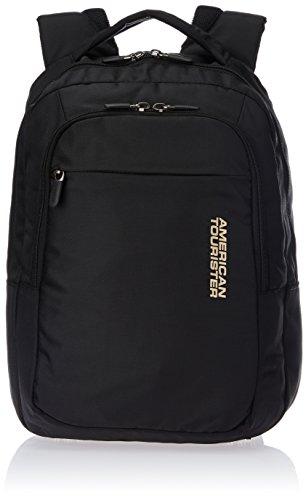 American Tourister Citi-Pro Nylon Black Laptop Backpack