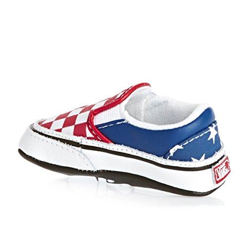 Vans K CLASSIC SLIP-ON VLYGLCD, Sneaker, Unisex bambino (stars stripe