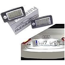 ZesfOr - Plafones LED de matrícula AUDI A6 C6 (2004-2011) - 939