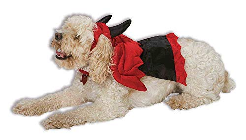 Red Devil Dog Cat Pet Costume Small (Devil Dog Pet Costume)