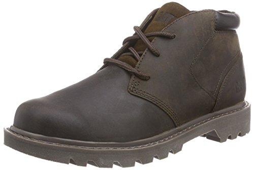 Cat Footwear - STOUT, Polacchine Uomo Marrone (Braun (MENS BROWN))