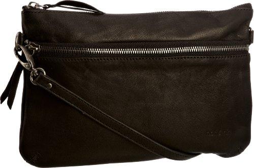 Nat & Nin Vicky, Cross Body Bag Femme - Noir - Noir,