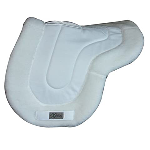 Exselle All Purpose Wither Relief Pad, White