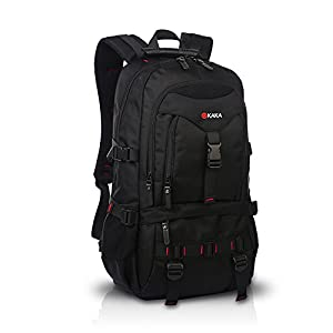 413w%2BlNA91L. SS300  - FANDARE Recorrido Alpinista Mochila Morral al Aire Libre Viaje Escuela Bolso Backpack para Ordenador Portátil 17…