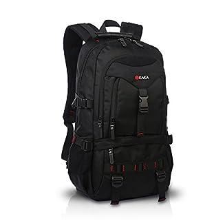 FANDARE Recorrido Alpinista Mochila Morral al Aire Libre Viaje Escuela Bolso Backpack para Ordenador Portátil 17» Pulgadas Mujeres Hombres Oxford Poliéster