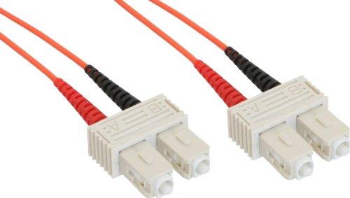 InLine LWL Duplex Kabel, SC/SC, 50m -