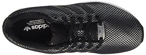adidas ZX Flux, Baskets Basses Mixte Adulte Gris (Clear Onix/Core Black/Ftwr White)