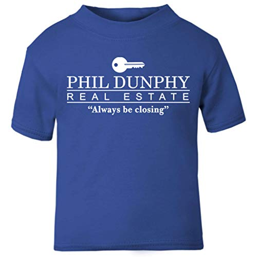 Familien Kostüm Moderne - Phil Dunphy Real Estate Always Be Closing Modern Family Baby and Toddler Short Sleeve T-Shirt